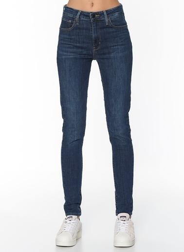 Levi's® 188820413 721 High Rise Skinny Carbon Yüksek Bel Kadın Jean Pantolon İndigo